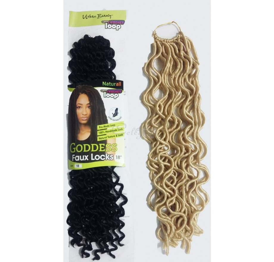 Goddess Faux Locs 18 Inches Celegant Fashion