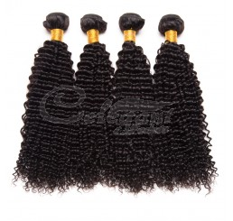 (3 Bundles) 7A Grade 100% Raw Unprocessed Peruvian kinky curly human hair