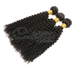 (3 Bundles) 8A Grade 100% Raw Unprocessed Brazilian kinky curly human hair weave
