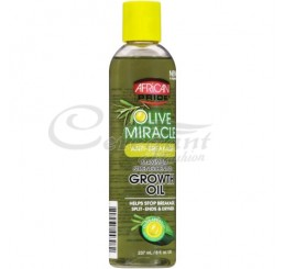African Pride Olive Miracle Growth Oil (237 ml)