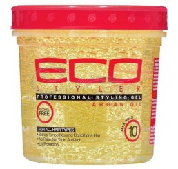 Ecoco Ecostyler Professional Styling Gel with Argan Oil, 235ml