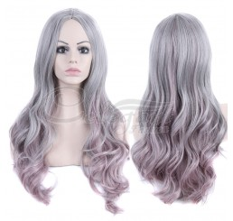 New fashion synthetic hair wigs long wavy wig for women
