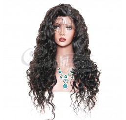 Grade 8A Human Hair Loose Wave Lace Front Wig
