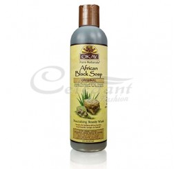 Okay African Black Soap Liquid, 237ml