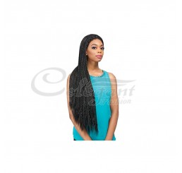 SENSATIONNEL SYNTHETIC HAIR EMPRESS EDGE BRAIDED LACE WIG SENEGAL BOX BRAIDS II