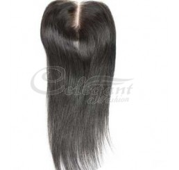 "Top closure hair lace closure swiss lace 4""*4"" Straight no shedding and tangle free"